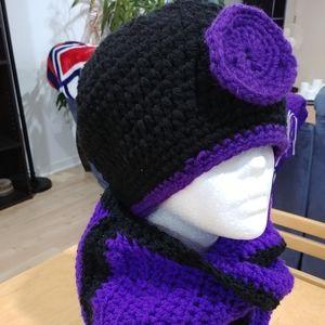 Ensemble tuque et foulard